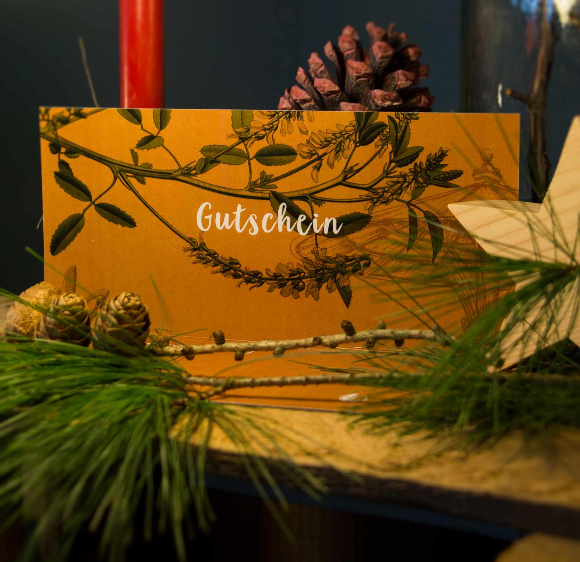 Herbal Hunter Gutschein Kräuterwanderung in Potsdam Weihnachten