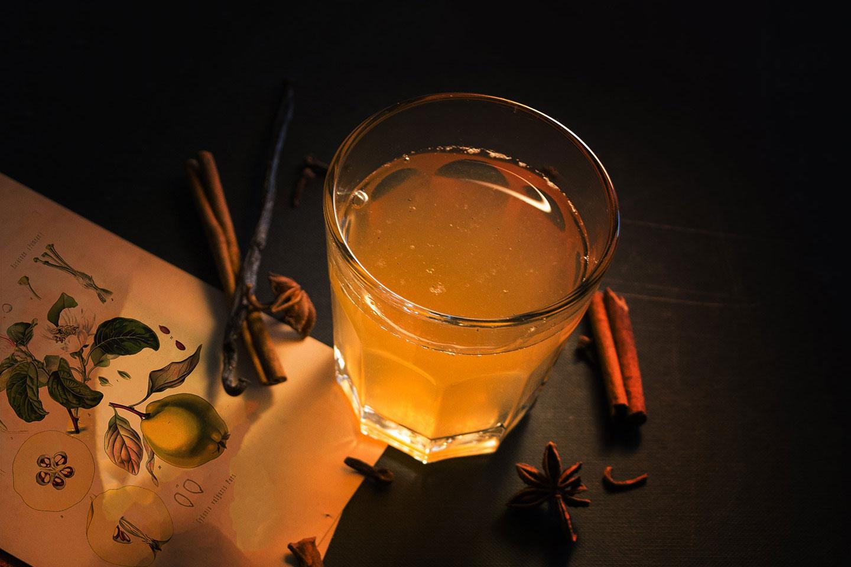 Herbal Hunter Kräuterküche Quitten-Punsch – Rezept