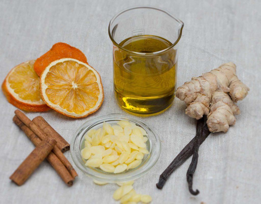 Herbal Hunter Kräuterblog Rezept Warme Socken-Balsam mit Ingwer