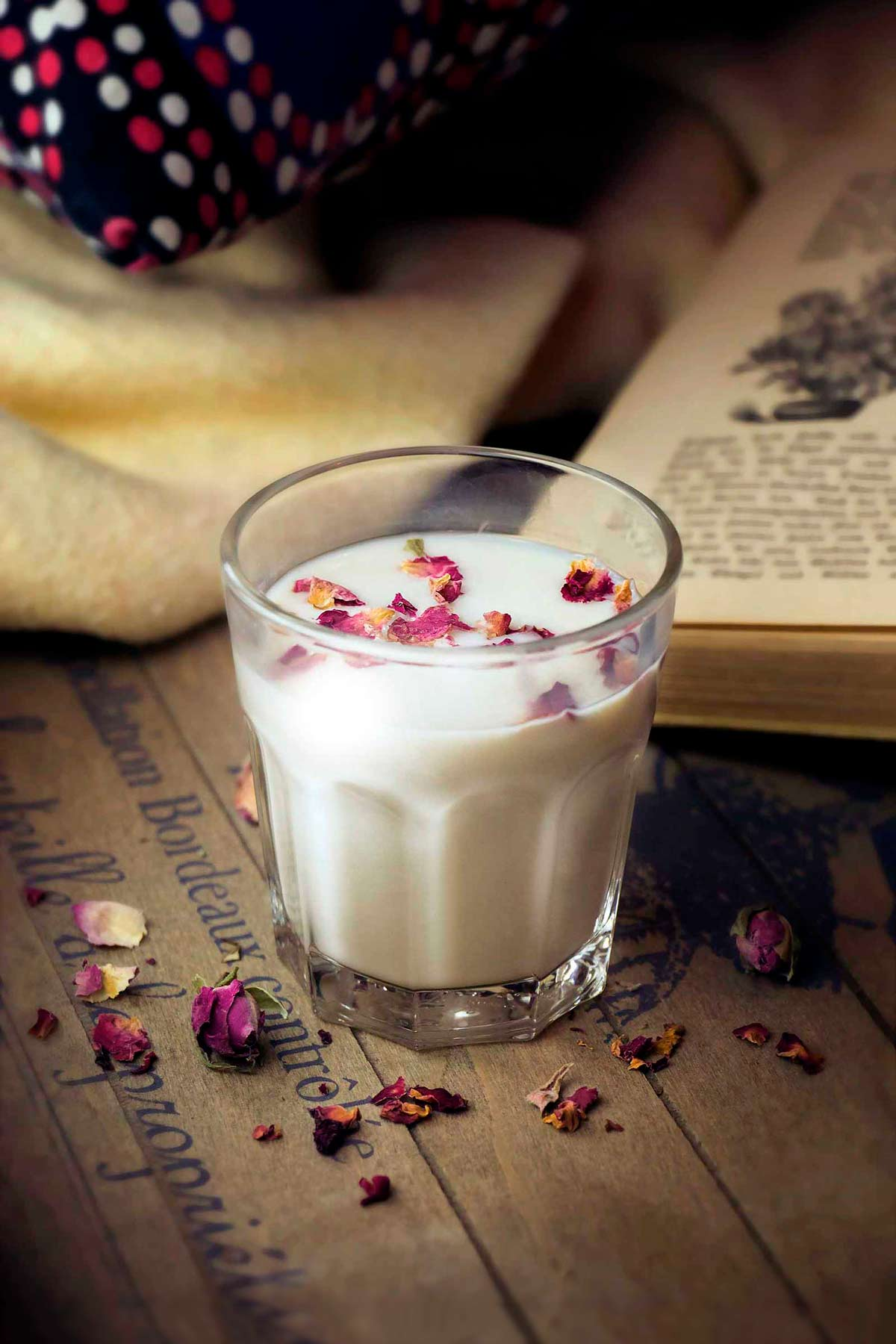 Herbal Hunter Kräuterküche Rosen-Hafermlich Rezept