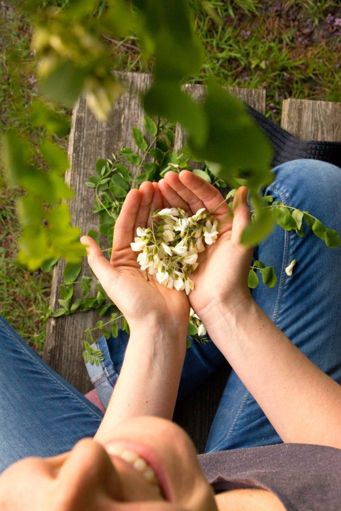 Herbal Hunter Kräuterblog Ich ess' Bäume Robinie