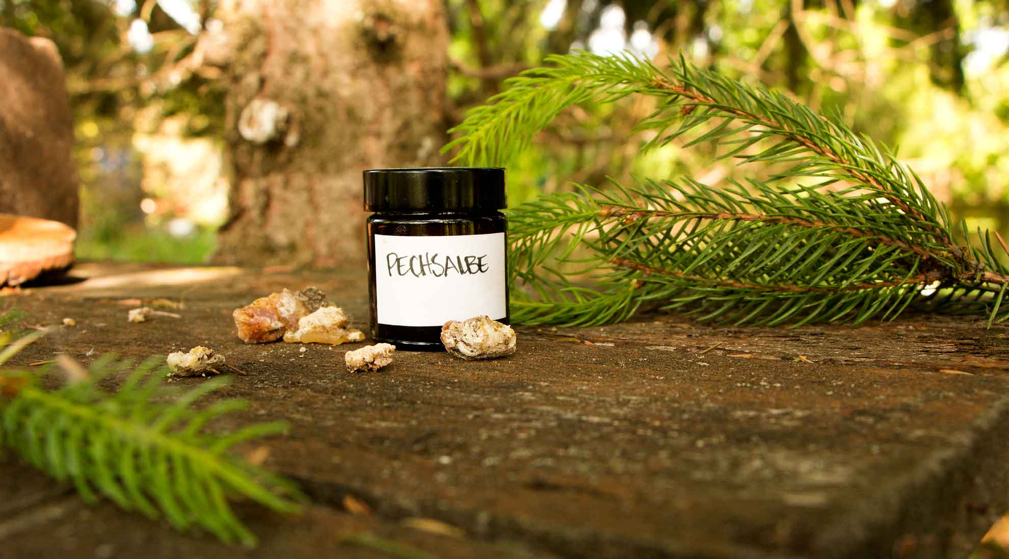 Herbal Hunter – Rezept für Pechsalbe selber herstellen