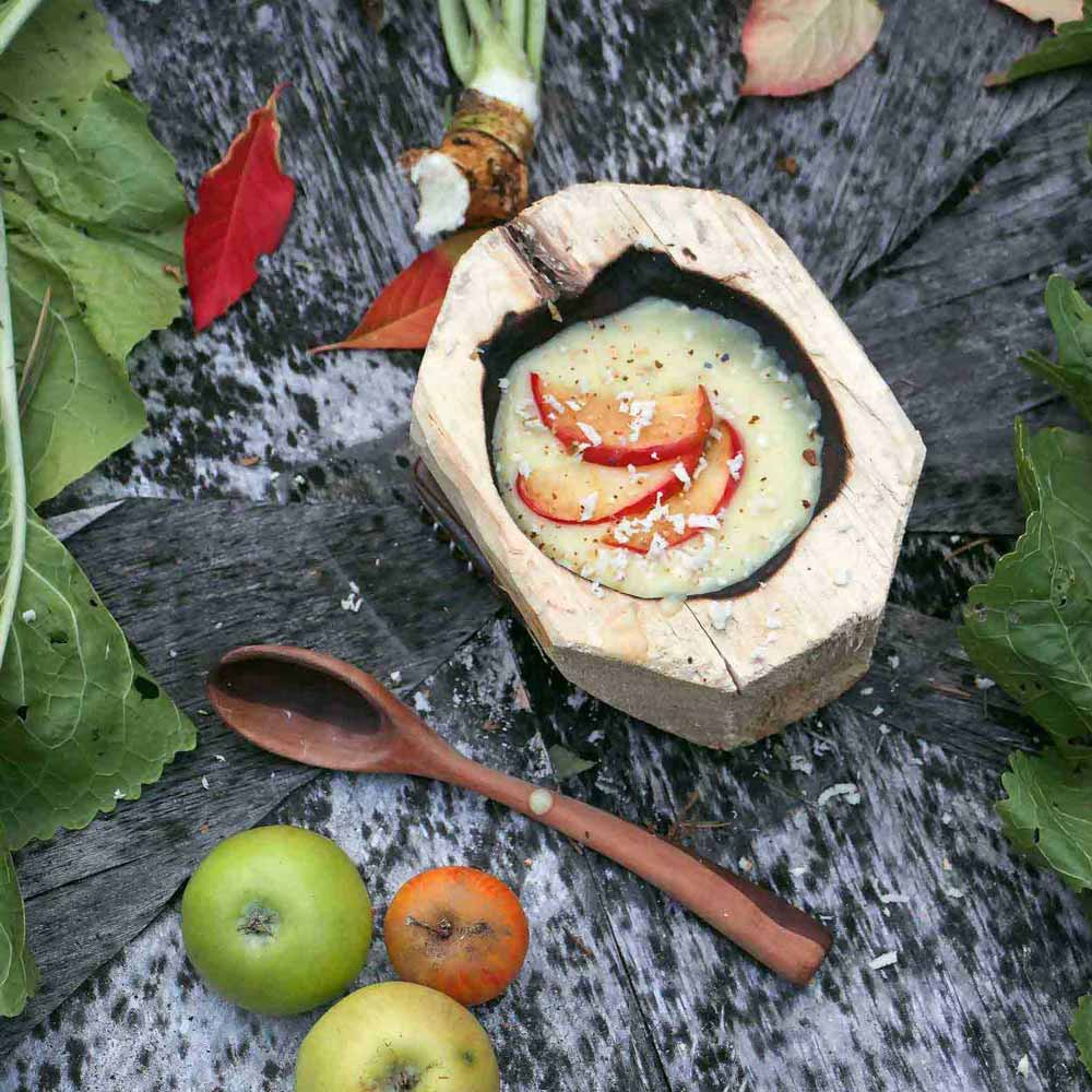 Apfel-Meerrettich-Suppe – Rezept
