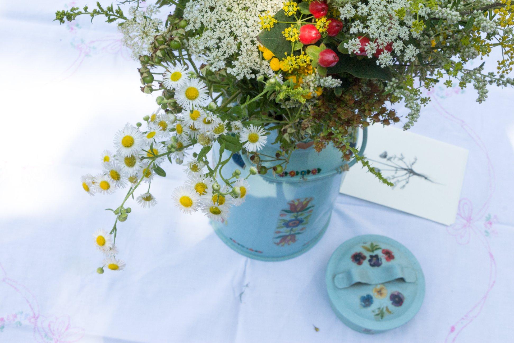 Blumen zur Hochzeit Herbal Hunter Potsdam