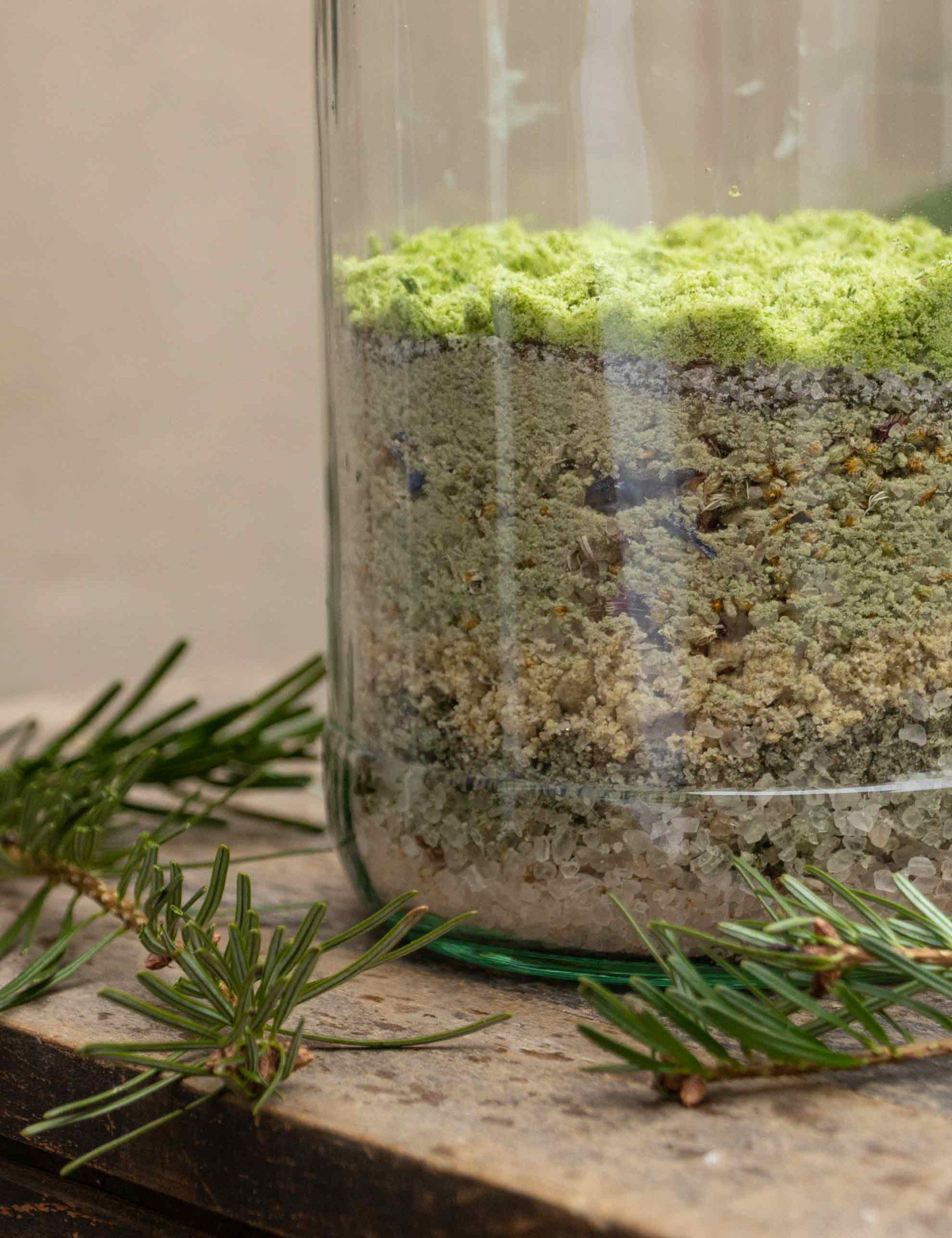 Herbal Hunter Kräuterblog saisonale Rezepte – Rezept Jahreskräutersalz