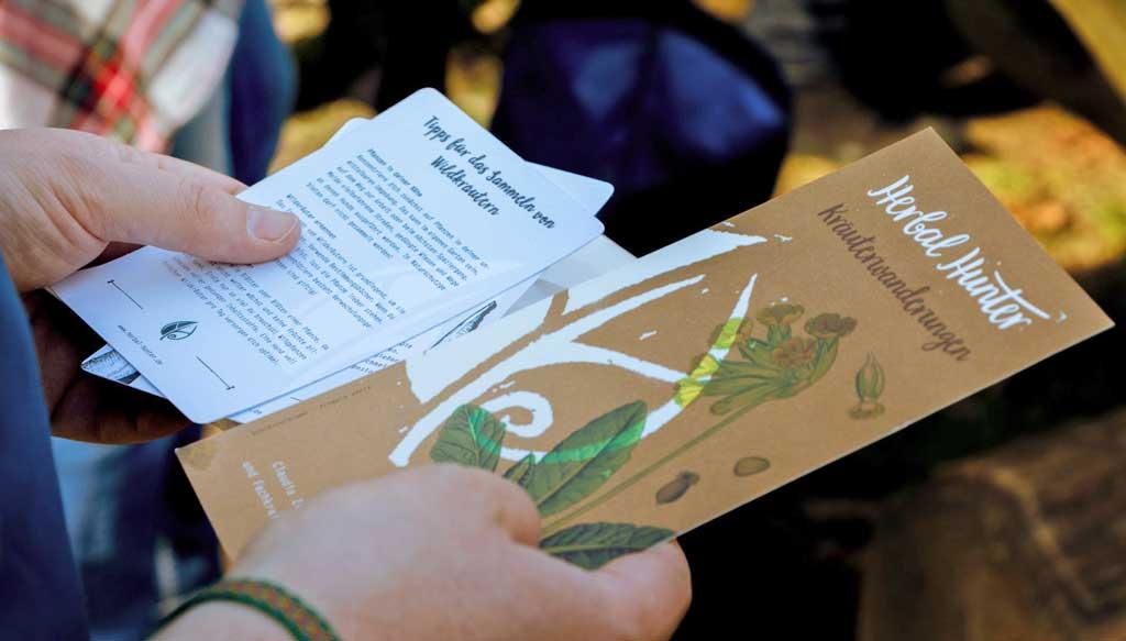 Kräuterwanderungen in Potsdam – Herbal Hunter auf Wildpark-Tour – Wildpark Potsdam – Wegestern